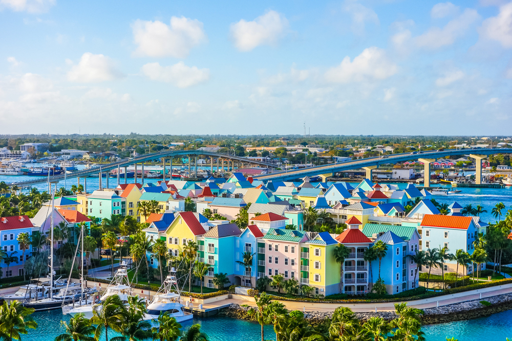 The city of Nassau